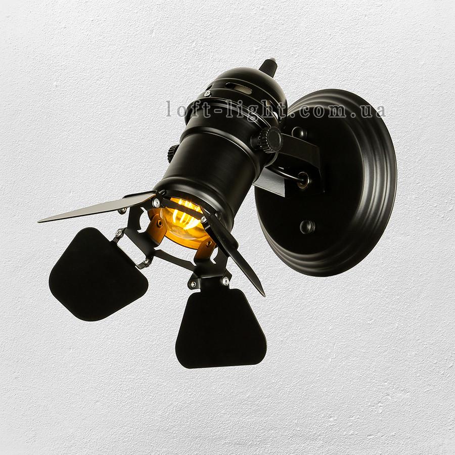 Прожектор в стиле лофт (модель 61-BSD01-1 BK )