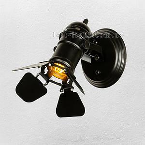 Прожектор в стиле лофт  61-BSD01-1 BK