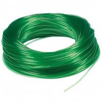 Trixie шланг силиконовый 4/6 мм зелёный, 100м