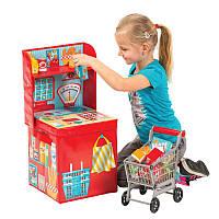 """*Игровая коробка для хранения Pop-it-Up """"Магазин"""" 29x29x62см"""
