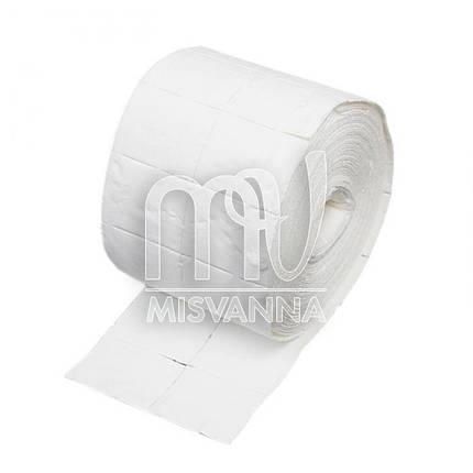 Безворсовые салфетки в рулоне Lidan 5х3.8 см, 250 шт плотные, фото 2