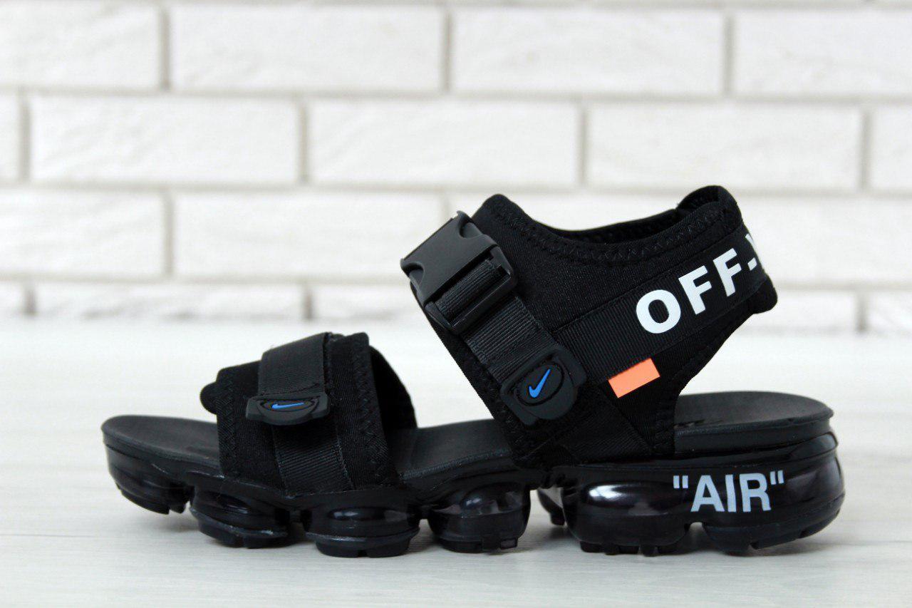 2e3e0fef Мужские сандали Nike Sandals x Off White x Black - Магазин одежды и обуви  welldone