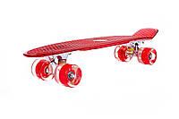 Пенни борд, скейт, скейтборд, полиуретановые колеса! Penny board! БЕСПЛАТНАЯ СБОРКА!, фото 1