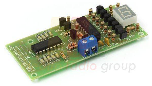 Радиоконструктор K254 (Цифровой индикатор уровня жидкости)