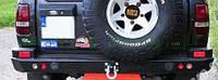 Задний силовой бампер HD для Discovery I и боками защищающими крыла (версия без фонарей)