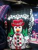 Женская кофта Снеговик  (Л.Я.Л.) 456