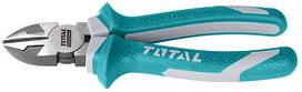 Кусачки с диагональным разрезом TOTAL THT230606 L=160 мм