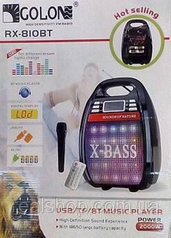 Акустическая система GOLON RX-810 BT Bluetooth
