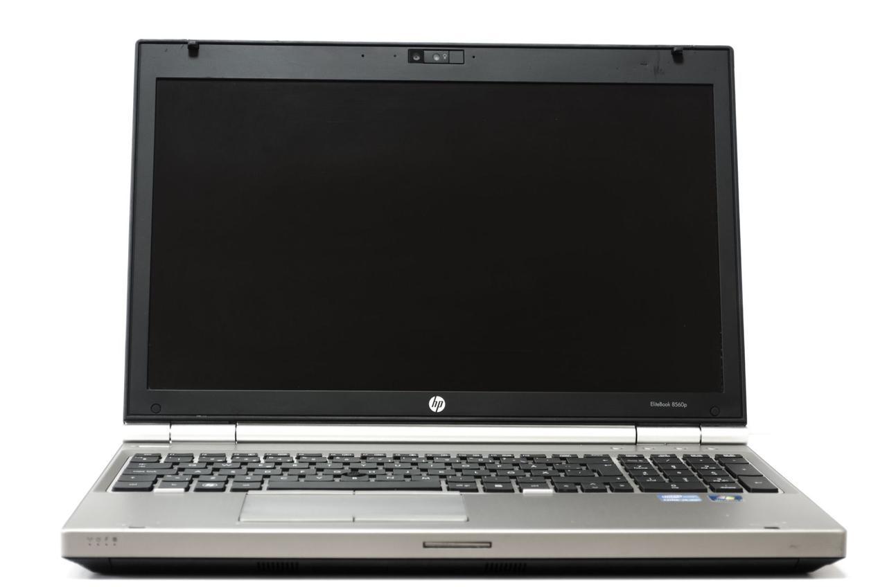HP Elitebook 8560P / 15.6' / Intel Core i5-2520M ( 2(4) ядра по 2.5GHz) / 4GB RAM / 320GB HDD / Intel HD Graphics 3000 / Web-camera