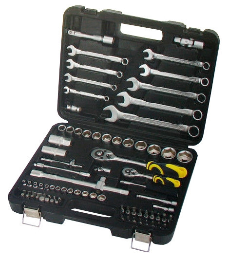 Набор ручных инструментов Сталь AT-1218 82 шт (70008)