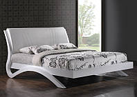 Кровать Эвита 160х200 белый глянец