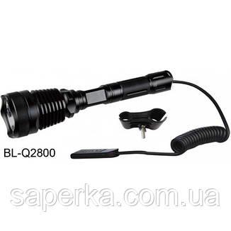 Фонарь для охоты подствольный  Bailong BL-Q2800T6 10000W, фото 2