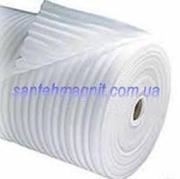 Полотно ппэ 5 мм х 1м х 50м   Теплоизол подкладка под ламинант, теплый пол, паркет, линолеум, стяжку, гипсокартон