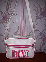 Мега стильная белая сумка Spooby New York City Original, фото 1