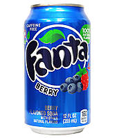 Fanta Berry 355ml USA - coffeine FREE