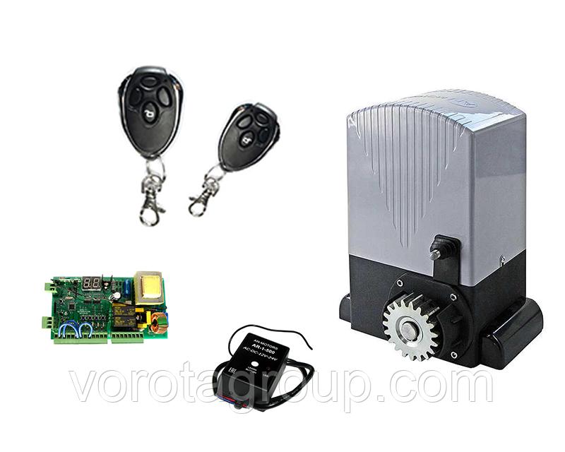 Автоматика для откатных ворот An-Motors ASL1000 Kit