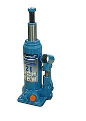 Домкрат бутылочный гидравлический 2т Unitraum  UN90204