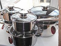 Набор посуды из нержавеющей стали Swiss Zurix Family