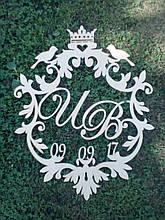 Вензель свадебный,герб,монограмма 2