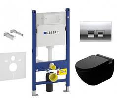 Комплект инсталляции Geberit 115.135.21.1 и Унитаз NEWARC Modern 3823B