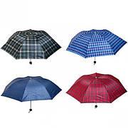 Зонтик складной механический клетка