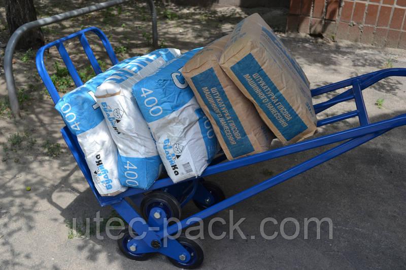 Тележка двухколесная с колесами для лестниц, фото 4