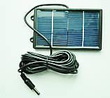 Светильник кемпинговый + зарядка от солнечной батареи + пульт Solar Led Light GD -5016, фото 5