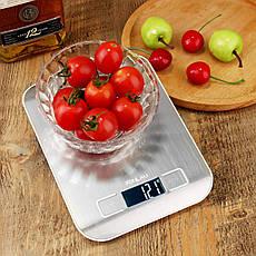 Кухонные цифровые весы FONLAM с металлическим корпусом, фото 3