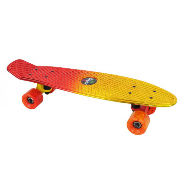 Скейтборд Tempish Buffy Star желто-красный
