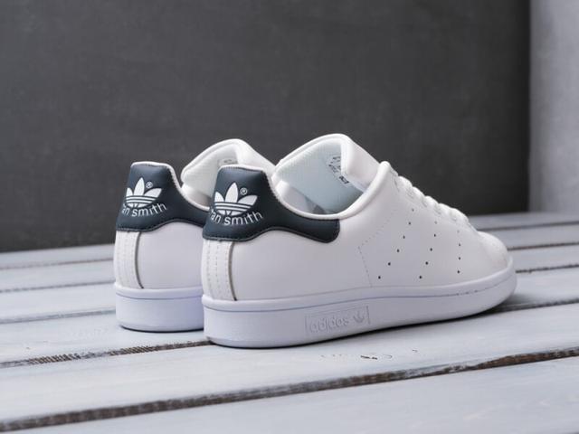 Adidas Stan Smith White Blue