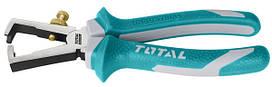 Кусачки для зачистки проводов TOTAL THT25616 160 мм