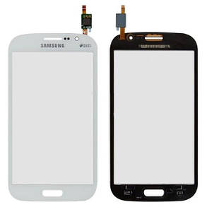 Тачскрін (сенсор) Samsung I9060 Galaxy Grand Neo original білий, фото 2