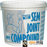 TM SEMIN SEM JOINT COMPОUND - готовая полимерная шпаклевка-финишпаста ( ТМ Семин Сем Джоинт Компоунд) 25 кг.