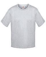 Детская футболка Мягкая для Мальчиков Серо-лиловая Fruit of the loom 61-015-94 7-8, фото 1