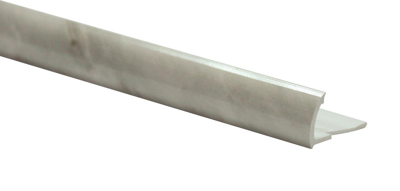 Арт.585 Профиль наружный мрамор серый, шт