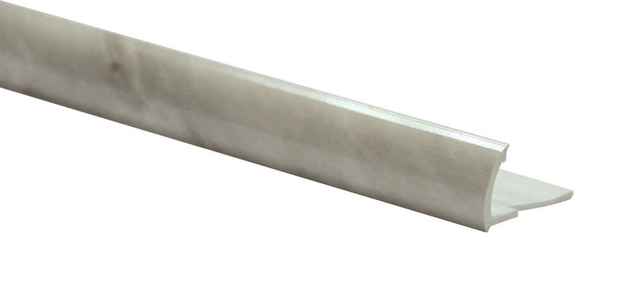 Арт.585 Профиль наружный мрамор серый, шт, фото 2