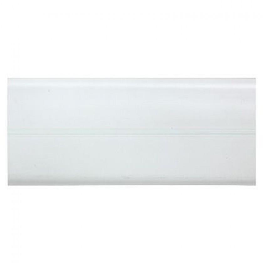 Угол гибкий ПВХ универсальный белый, шт