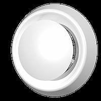 Анемостат приточно-вытяжной регулируемый с фланцем АБС D100, шт
