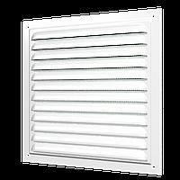 Решетка вентиляционная с покрытием эмаль 125х125 , шт