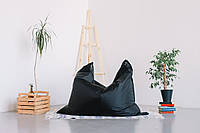 Черное кресло мешок подушка 120*140 см из ткани Оксфорд, кресло-мат, фото 1