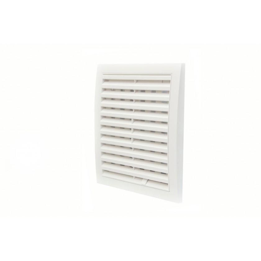 Решетка вентиляционная вытяжная АБС 200х200 мм, шт