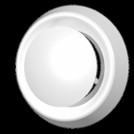 Анемостат приточно-вытяжной регулируемый с фланцем АБС D200, шт, фото 2