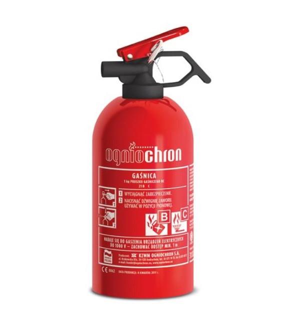 Огнетушитель автомобильный OGNIOCHRON GP1Z BC 1кг