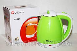 Чайник электрический Domotec DТ-901 Зелёный