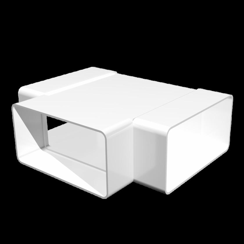 Тройник Т-образный пластик 55х110 мм, шт