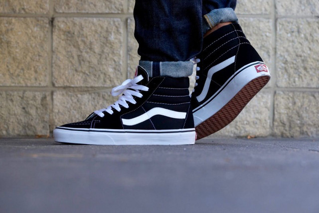 Vans Old Skool SK8 Black White
