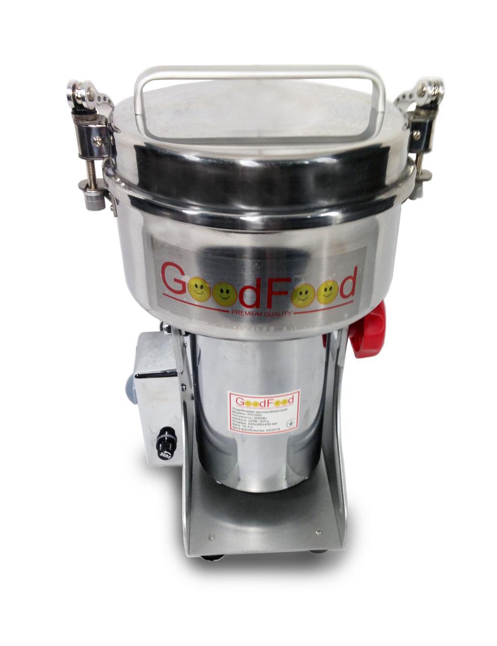 Измельчитель высокооборотный (мельница) GoodFood PG1000