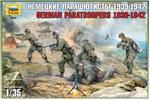 НЕМЕЦКИЕ ПАРАШЮТИСТЫ 1939-1942. 1/35 ZVEZDA 3628