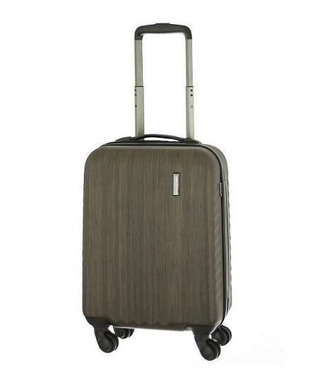 Маленький пластиковый  4-х колесах чемодан March Ribbon