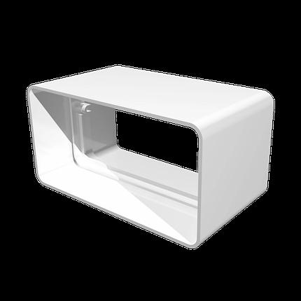 Соединитель прямоугольных воздуховодов 60х120 мм, шт, фото 2